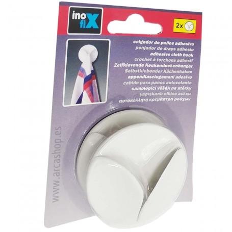 Colgadores Individual adhesivo para Bayetas y Paños de Cocina y limpieza del baño.