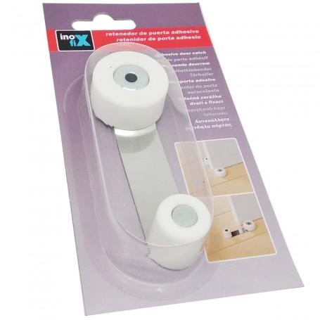 Retenedor puerta blanco Inofix sujeción segura. Tope puertas.
