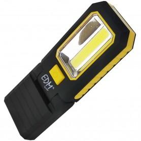 Linterna doble Lámpara Taller Led EDM XL 180º imán base y trasera y cuerpo cabezal 180º