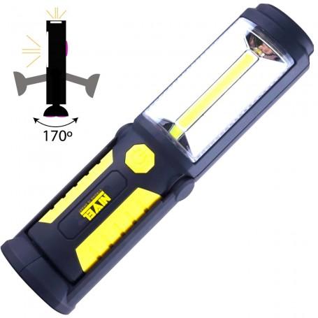 Tamaño Pequeño. Iluminación potente. Lámparas Led de Taller Mecánico NIVEL Recargables por USB