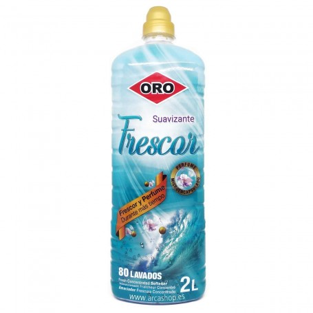 ORO Suavizante Concentrado Perfumado Frescor 80 lavados 2 litros