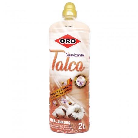 Suavizante ORO Concentrado Perfumado Talco 2 litros 80 lavados