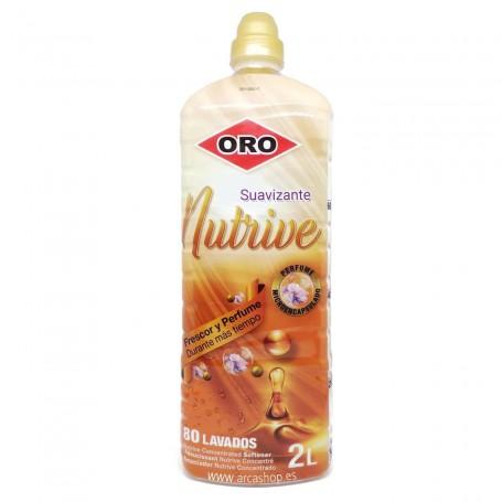 Suavizante ORO Concentrado Perfumado Nutrive 2 litros 80 lavados