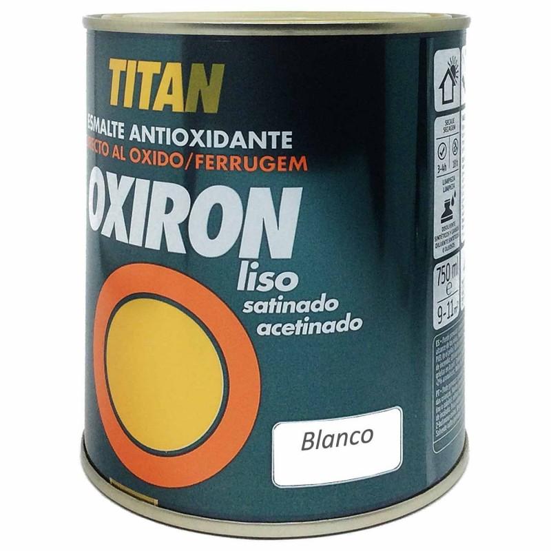 Titan Oxiron Liso Satinado y Titan Oxiron Liso Efecto Forja