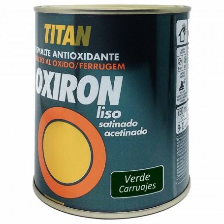 Titan Verde carruajes 4562 Oxiron Liso Satinado 750ml 4 litros