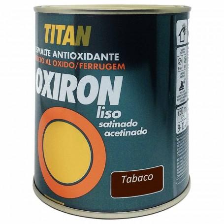 Titan Tabaco 4544 Oxiron Liso Satinado 750ml 4 litros