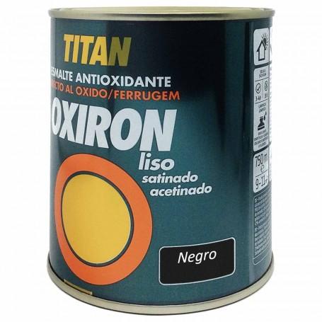Titan Negro 4567 Oxiron Liso Satinado 750ml 4 litros