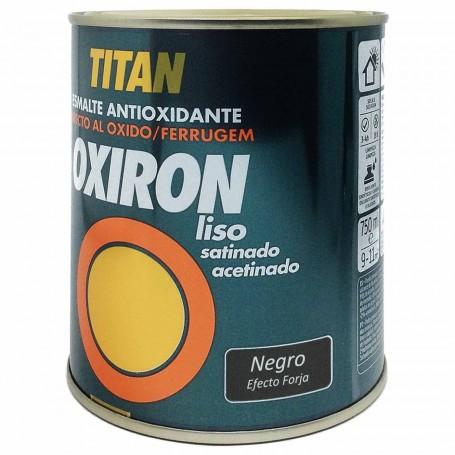 Titan Oxiron Negro 4204  Efecto Forja Liso Satinado