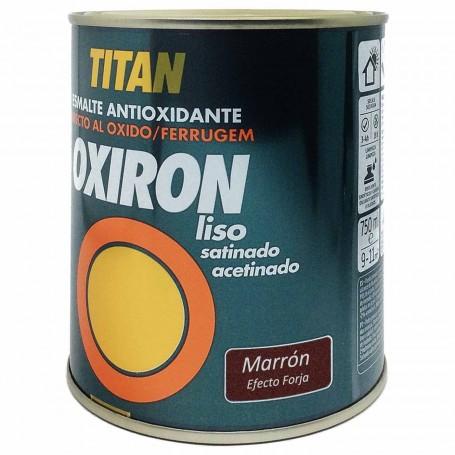 Titan Oxiron Marrón 4205  Efecto Forja Liso Satinado
