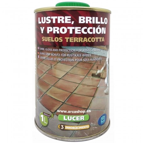 Lucer Monestir Brillo Protector Antimanchas Suelos Terracotta