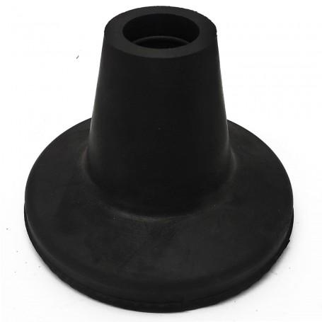 Conteras de goma base extra grande 80 mm muletas y bastones.