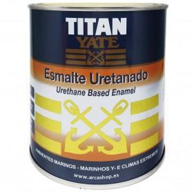 Esmalte Uretanado Blanco Brillante. Titan Yate