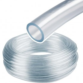 Tubo Espirococristal flexible PVC Ø6mm, Ø8mm,  Ø10mm, Ø12mm y Ø14mm diámetros de interior.
