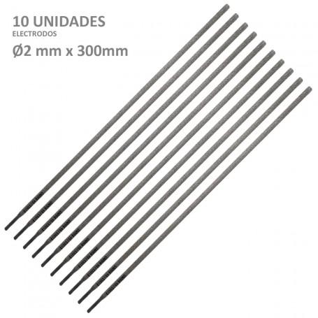 Electrodos Recubiertos Ø2 mmx 300 mm