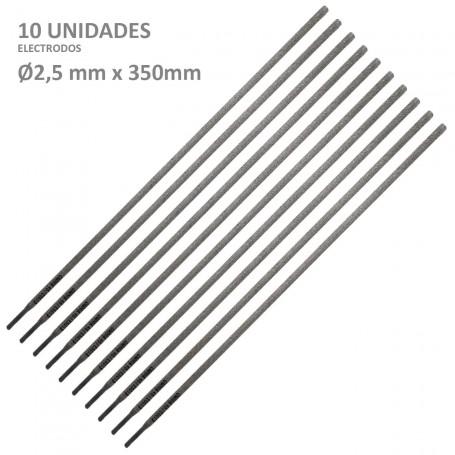 Electrodos Recubiertos Ø2,5 mmx 350 mm
