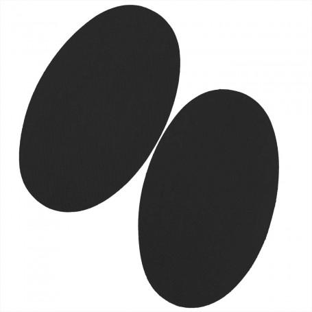 Rodilleras Parche Negro Termoadhesivas pantalones y mangas