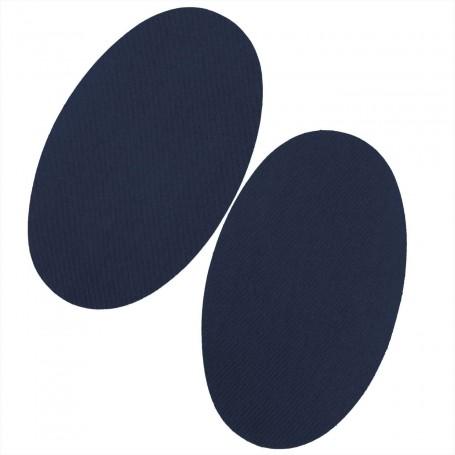 Rodilleras Parches Azul Marino Termoadhesivas pantalones y mangas