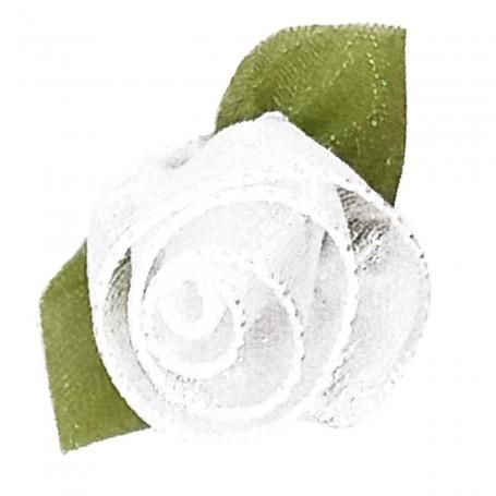 Flores Organza Blanca