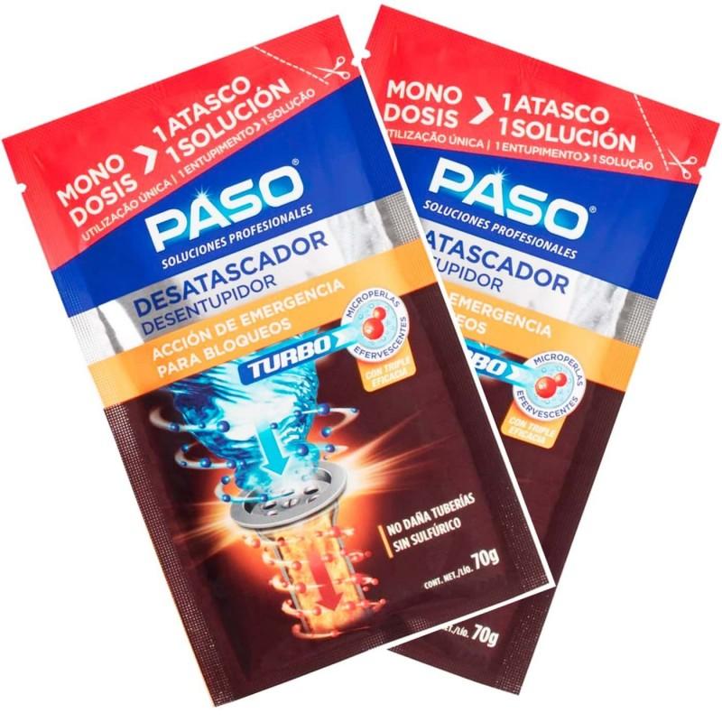 Desatascador Monodosis Turbo de PASO Profesional