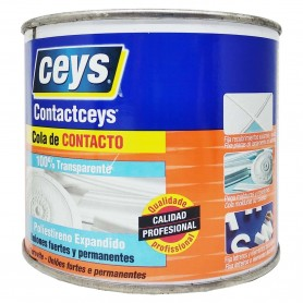 Contactcers Transparente adhesivo pegar poliestireno expandido, porexpan, molduras, pequeños espejos, etc.