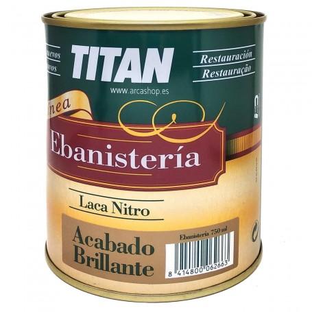 Laca Nitro Acabado Brillante TITAN Ebanistería