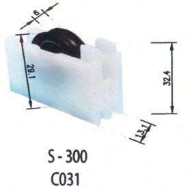 Rodamientos Correderas S300 C031 Puertas - Ventanas