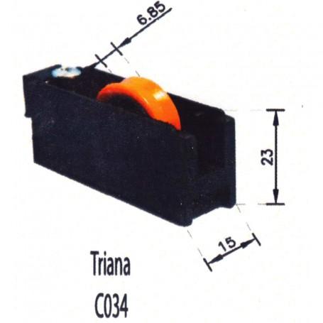 Rodamientos Corredera Triana C034  Puertas - Ventanas