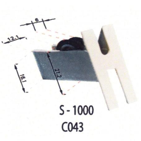 Rodamientos Corredera S1000 C043 Puertas - Ventanas