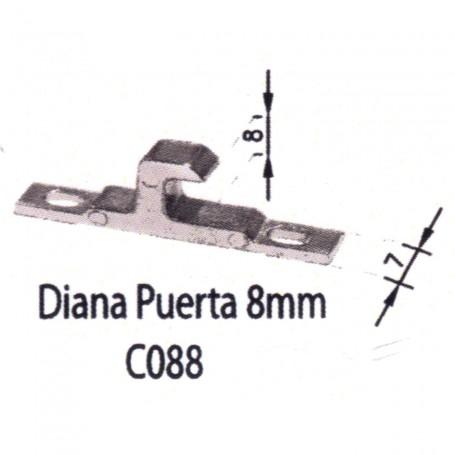 Contracierre Diana 8mm C088 Puertas - Ventanas