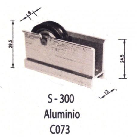 Rodamientos Puertas - Ventanas Correderas S300 Aluminio C073