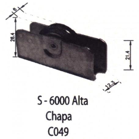 Rodamientos Puertas - Ventanas Correderas S 600 Alta Chapa C049