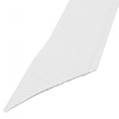 Cinta Elástica Blanca Semiblanda ancho 18 mm, 22 mm, 25 mm y 30 mm. Rollos 25 metros.
