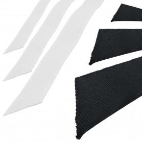 Elástico Negro trenzado standard ancho 5 mm, 7 mm, 10 mm, 12mm y 16mm