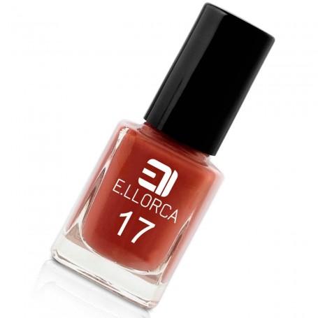 Esmalte Uñas 17 Rojo Arcilla  E. Llorca Pintauñas