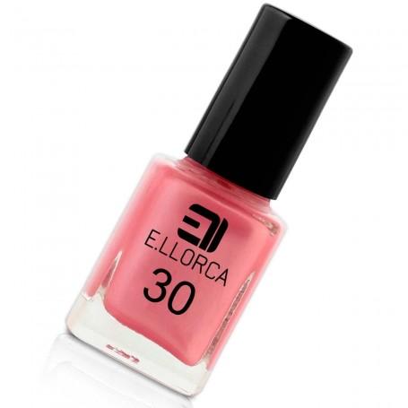 Esmalte Uñas 30 Rosa Palo Nacar  E. Llorca Pintauñas