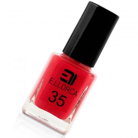 Esmalte Uñas 35 rojo E. Llorca Pintauñas
