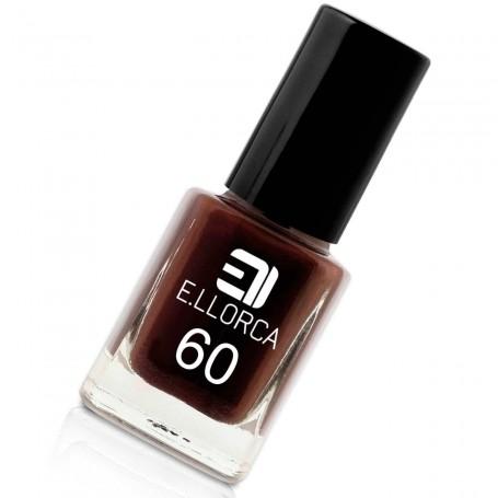 Esmalte Uñas 60 marrón oscuro E. Llorca Pintauñas