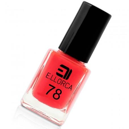 Esmalte Uñas 78 rojo transparente E. Llorca Pintauñas