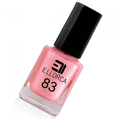 Esmalte Uñas 83 rosa lila nacar E. Llorca Pintauñas