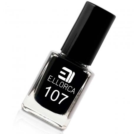 Esmalte Uñas 107 negro  E. Llorca Pintauñas