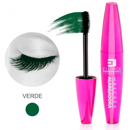 Máscara Alargadora Pestañas Verde Elisabeth Llorca
