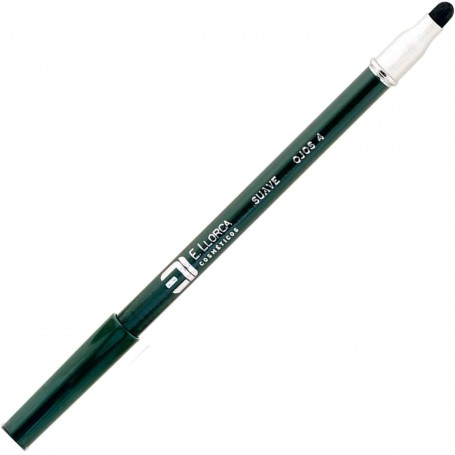 04 Verde Oscuro Lápiz Perfilador Ojos Suave con Difuminador