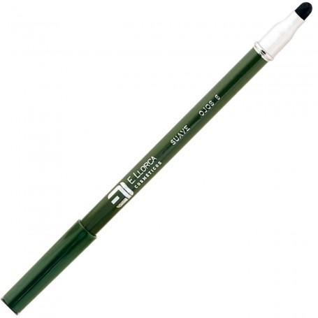 06 Verde Cacería  Lápiz Perfilador Ojos Suave con Difuminador