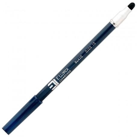 15 Azul Indigo Oscuro Perfilador Ojos Suave con Difuminador