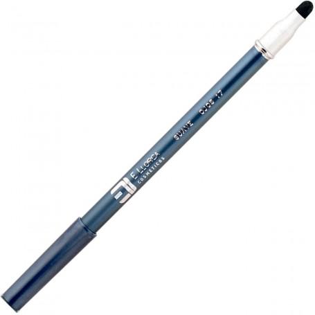 17 Gris Marengo Azul  Lápiz Perfilador Ojos Suave con Difuminador