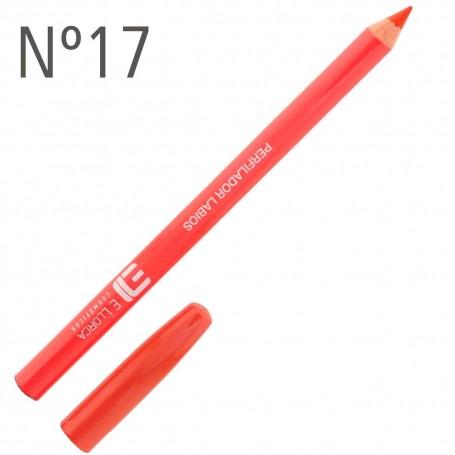 Lápiz Perfilador Labios Naranja n-17 Elisabeth Llorca
