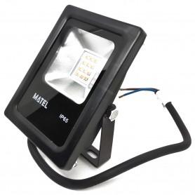 Foco Proyector LED 10 W (1000 Lumens) Luz fría y Luz cálida Iluminación exterior jardines