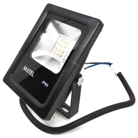Foco Proyector LED Negro Iluminación Exterior IP65 MATEL