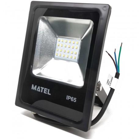 Foco Proyector LED 20 W (1500 Lumens) Luz fría y Luz cálida Iluminación exterior jardines