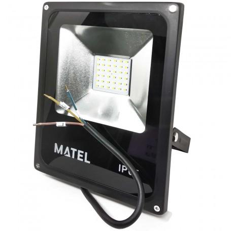 Foco Proyector LED 30 W (3000 Lumens) Luz fría y Luz cálida Iluminación exterior jardines